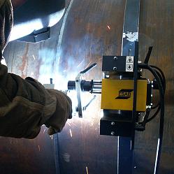 Сварка трубопроводов комплексом Railtrac Orbital — FastMig KMS 400